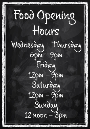 Food Opening Hours